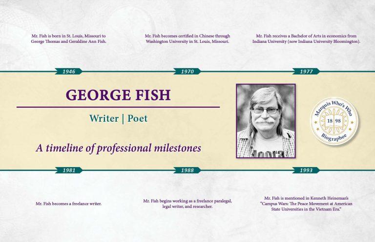 George Fish Professional Milestones